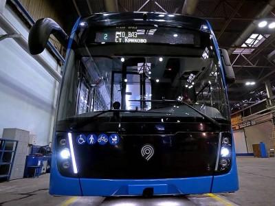 Kamaz présente son premier bus à hydrogène