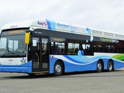 Ecosse : Aberdeen valide l'acquisition de 10 bus à hydrogène supplémentaires