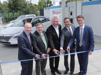 Allemagne : Air Liquide ouvre une nouvelle station à Düsseldorf