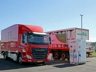 Occitanie : un camion à hydrogène en démo à Albi