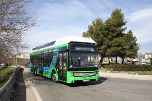Un premier bus à hydrogène en test à Madrid