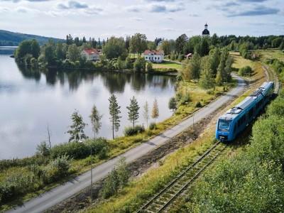 Le train à hydrogène d'Alstom fait ses débuts en Suède