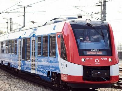 Alstom met en service un premier train à hydrogène en Autriche