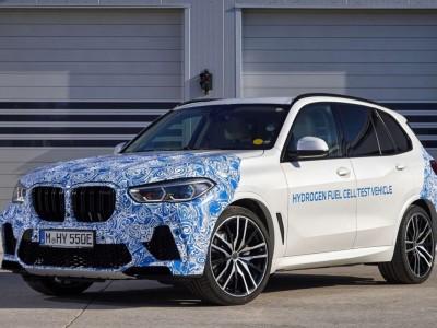 Le BMW X5 à hydrogène débute ses premiers tests
