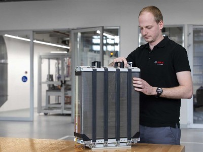 Bosch se lance dans la production de piles à combustible