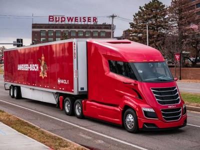 Budweiser réalise sa première livraison en camion hydrogène