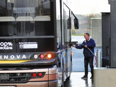 Keolis va expérimenter un bus à hydrogène à Alès