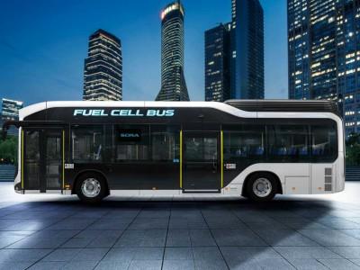 Toyota va fournir des piles à combustible pour les bus en Chine