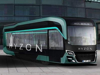 Hyzon Motors annonce une commande de 1.000 bus à hydrogène