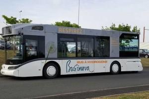 Bus hydrogène : la CATP sélectionne Safra et son Businova H2