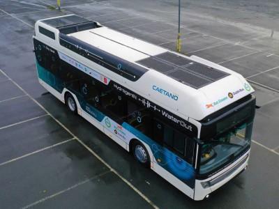 Irlande : un bus à hydrogène en test à Dublin