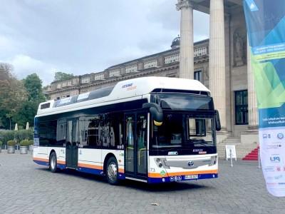 Allemagne : dix bus Caetano à hydrogène pour Wiesbaden