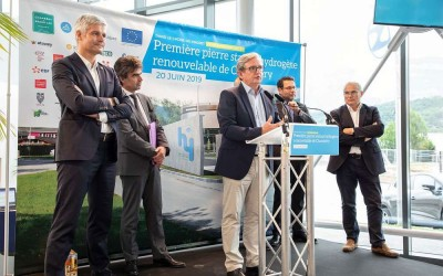 Zero Emission Valley : la future station hydrogène de Chambery entame ses travaux