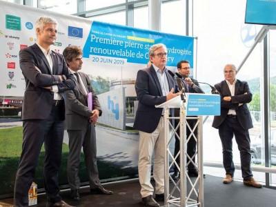 Zero Emission Valley : la future station hydrogène de Chambery entame ses travaux