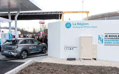 Chambéry inaugure sa première station à hydrogène