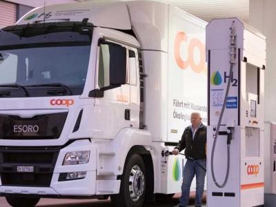 L'ACEA appelle à déployer des stations à hydrogène pour les poids-lourds