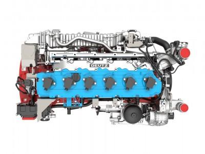 Deutz présente son premier moteur à hydrogène