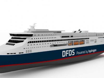 Un ferry à hydrogène de 23 mégawatts pour DFDS