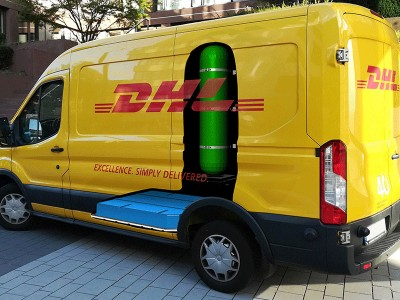DHL Express commande à StreetScooter 100 fourgons à pile à combustible