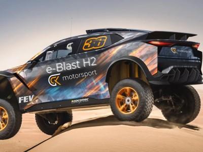 e-Blast H2 : un buggy à hydrogène pour le Dakar