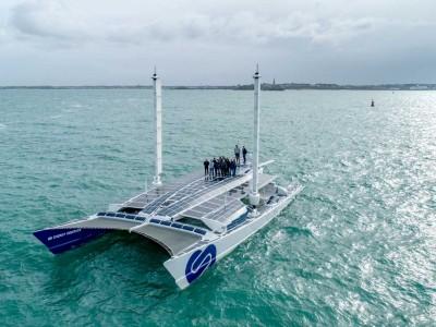 Energy Observer : le navire à hydrogène reprend la mer