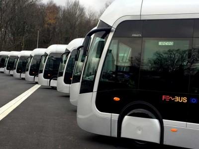 Fébus : les bus à hydrogène de Pau entrent en service
