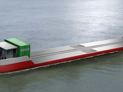 Une barge à hydrogène sur la Seine avant fin 2021