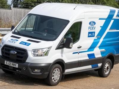 Utilitaire : le Ford Transit à hydrogène se prépare