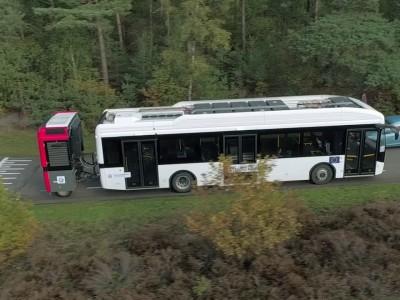 Un prolongateur à hydrogène pour autobus et autocars électriques