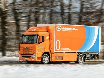 En Suisse, Gebruder Weiss teste son premier camion à hydrogène avec Hyundai