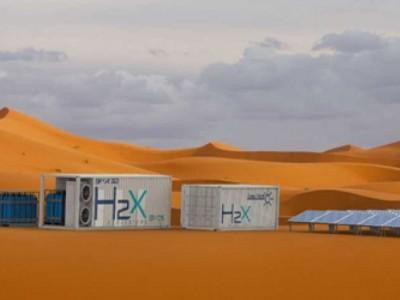 De l'hydrogène pour électrifier le rallye Aicha des Gazelles