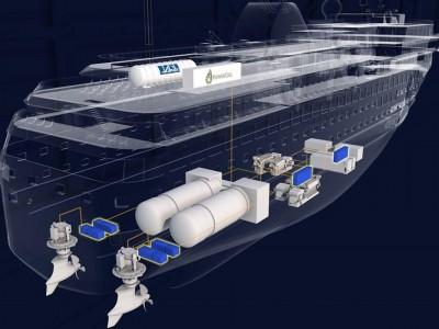 Havyard va développer un navire cargo à hydrogène
