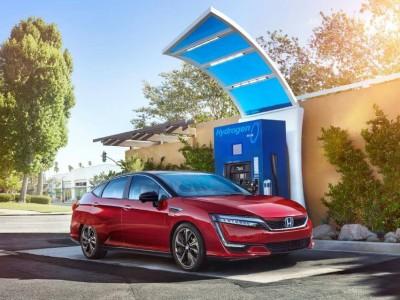 Voiture hydrogène : Honda fait évoluer sa Clarity Fuel Cell