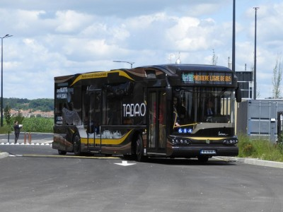 A Houdain, les premiers bus à hydrogène entrent en exploitation commerciale