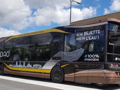 La première ligne de bus à hydrogène de France est lancée
