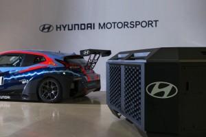 Les voitures électriques du Pure ETCR seront chargées à l'hydrogène