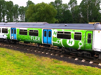 HydroFLEX, le premier train à hydrogène du Royaume-Uni