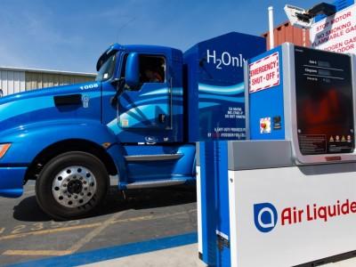 Aux Etats-Unis, Air Liquide va accélérer la production d'hydrogène renouvelable