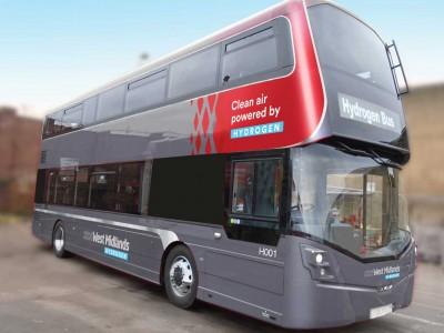 Au Royaume-Uni, Birmingham passe commande de 20 bus à hydrogène