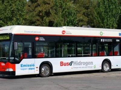Barcelone va s'équiper de bus à hydrogène