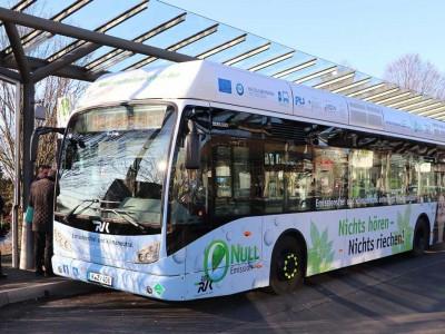 En Allemagne, la région métropolitaine de Cologne inaugure 35 bus à hydrogène