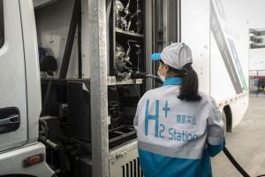 Pékin veut déployer 10 000 véhicules hydrogène d'ici 2025