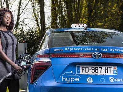 Total investit dans le taxi à hydrogène