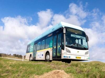 Les premiers bus à hydrogène lancés au Danemark