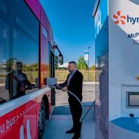 Auxerre inaugure sa station hydrogène