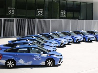 Taxis à hydrogène : Hype accélère à Paris