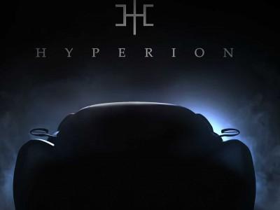 Hyperion XP-1 : premier teaser pour la supercar à hydrogène