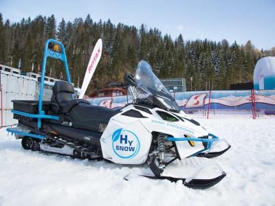 Lynx HySnow, la première motoneige à hydrogène