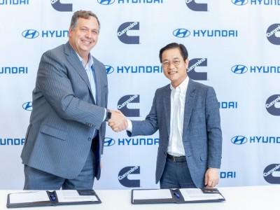 Hyundai et Cummins avancent ensemble dans les piles à combustible