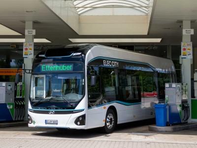 Hyundai débute les tests de son bus à hydrogène en Allemagne